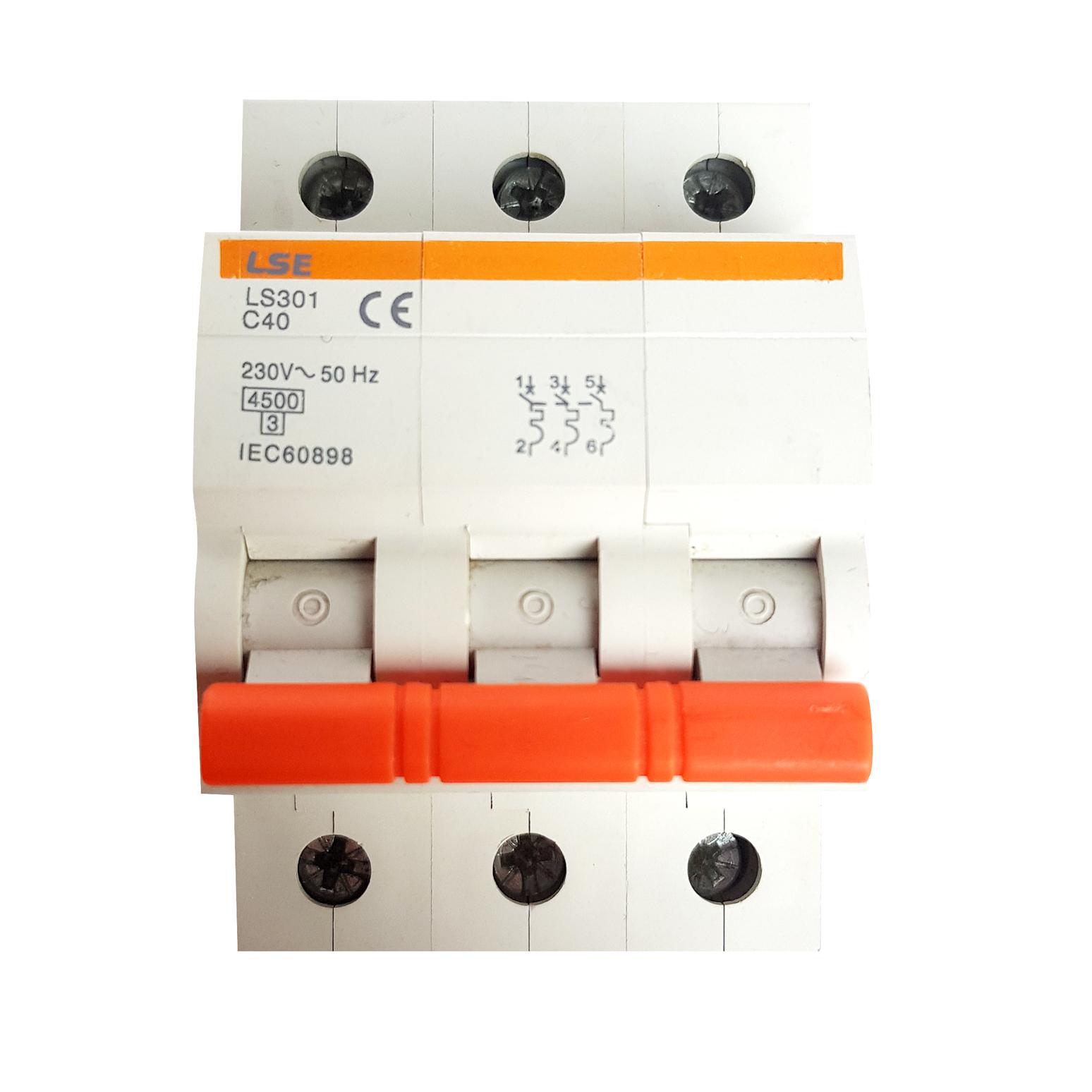 MCB LS301-3P 50A/63A
