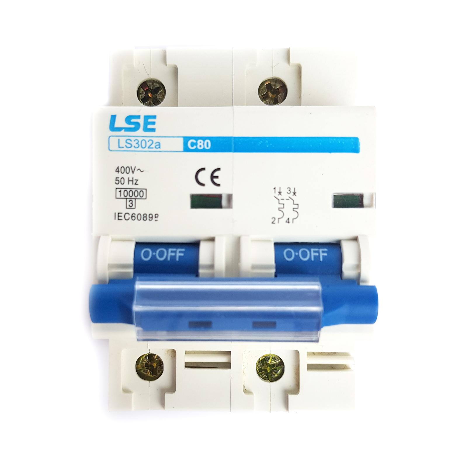 MCB LS302a-2P 80A/100A